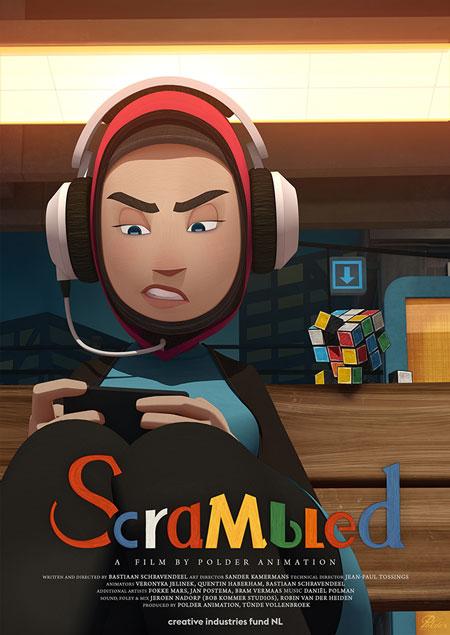 پوستر انیمیشن کوتاه Scrambled 2017