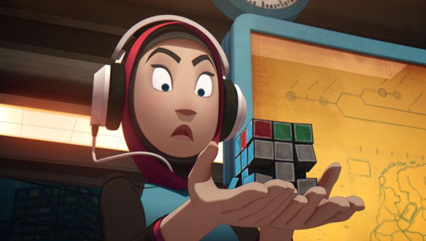 انیمیشن کوتاه Scrambled 2017