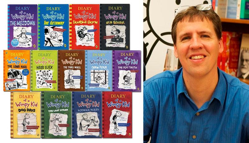 کتاب های diary of a wimpy kid