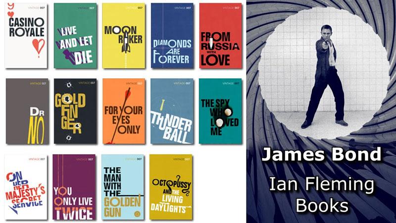 مجموعه کتاب های جیمز باند 007