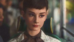 بازسازی چهره آدری هپبورن در یک ویدئوی تبلیغاتی