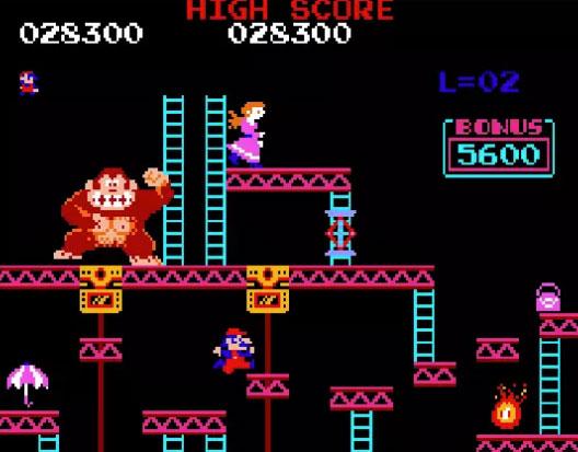 تصویر بازی Donkey Kong