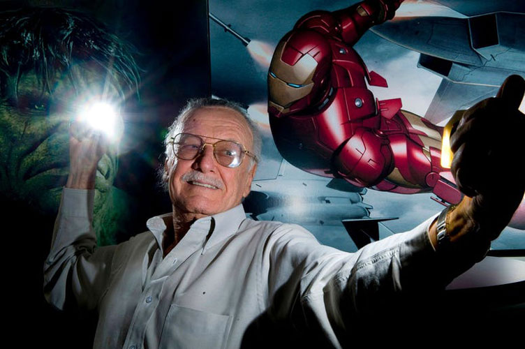 استن لی خالق ابرقهرمان های Marvel