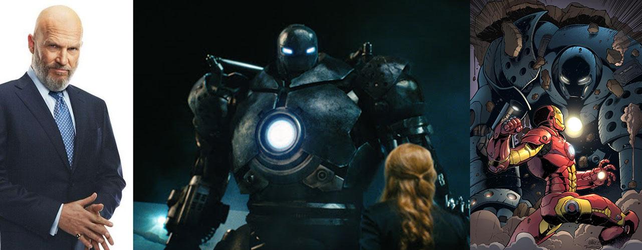 آهنچی در villain در iron man