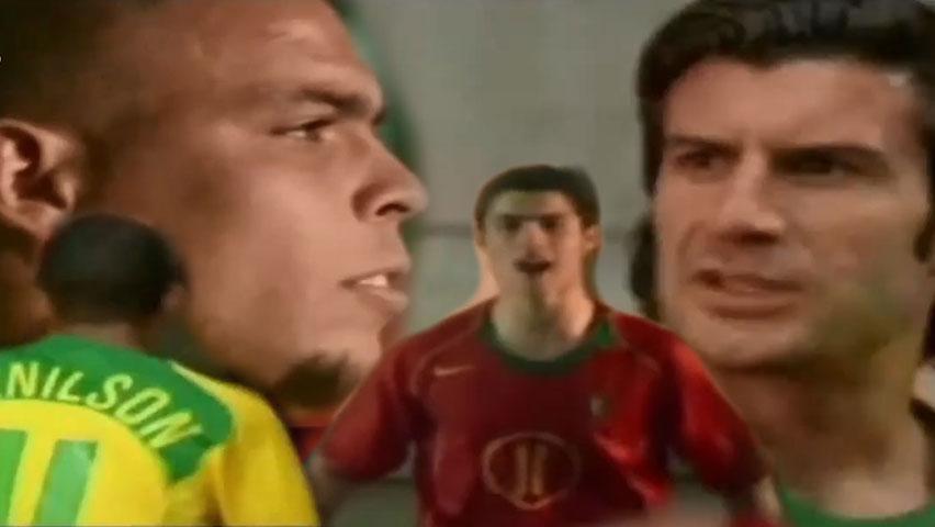 فیلم کوتاه فوتبالی مسابقه حماسی بین تیم های پرتغال و برزیل از نایک Nike