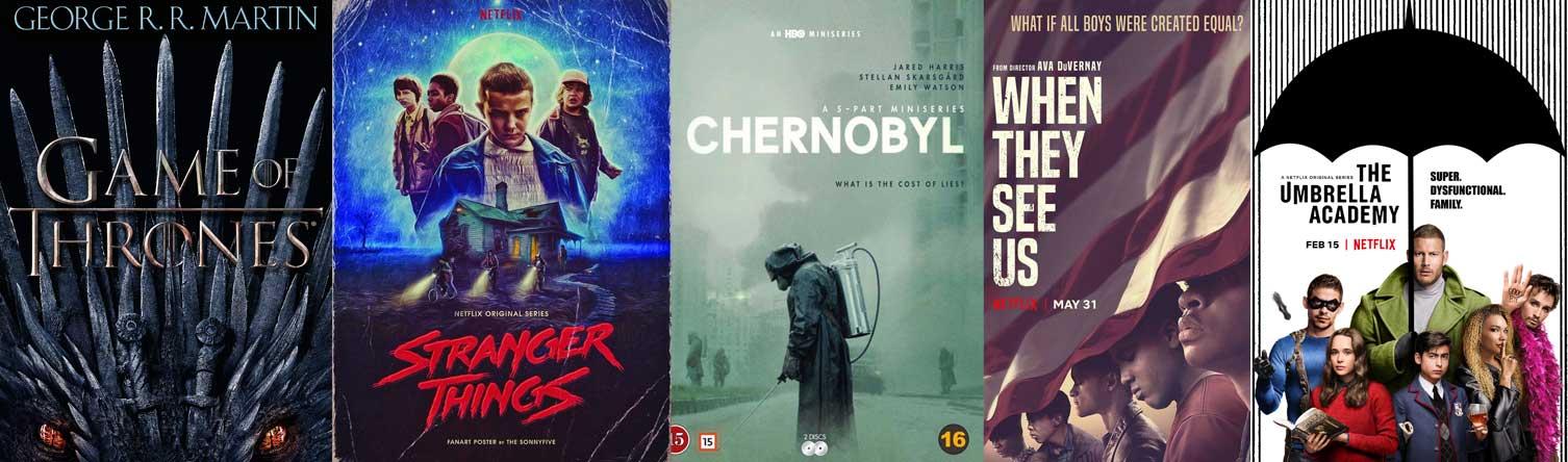 برترین سریال ها در جستجوی گوگل 2019
