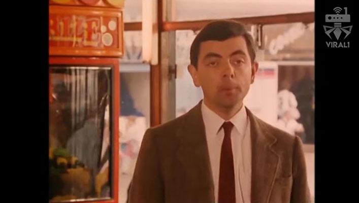 ویدئوی وایرال مستر بین در شهر بازی