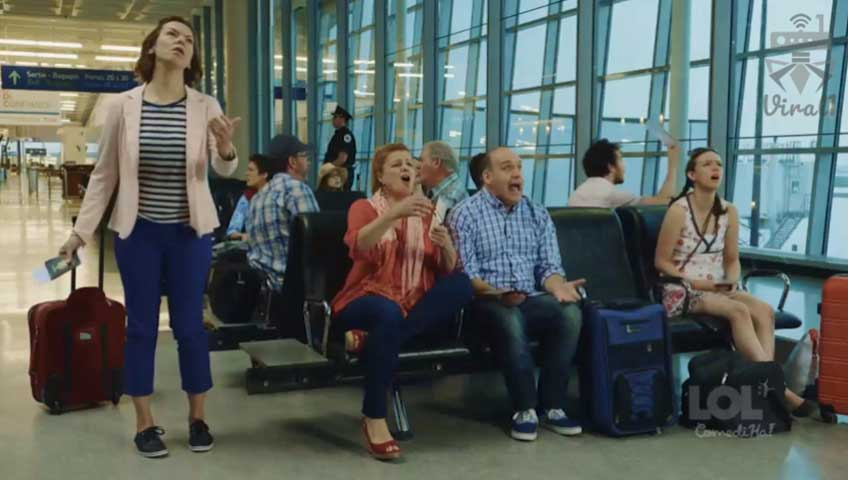سریال خوش خنده ، هواپیمای شما تاخیر دارد
