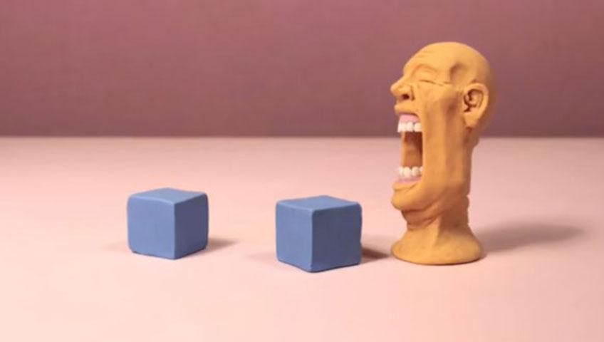 انیمیشن استاپ موشن و خمیری Distortion (اعوجاج) 2019 از Guldies