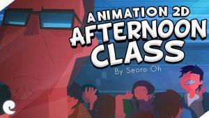انیمیشن کلاس بعد از ظهر