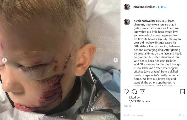 ماجرای پسر 6 ساله ای که جان خواهرش رو نجات داد