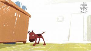 انیمیشن کوتاه شام خوشمزه و سگ بازیگوش از استودیوی BirdBox