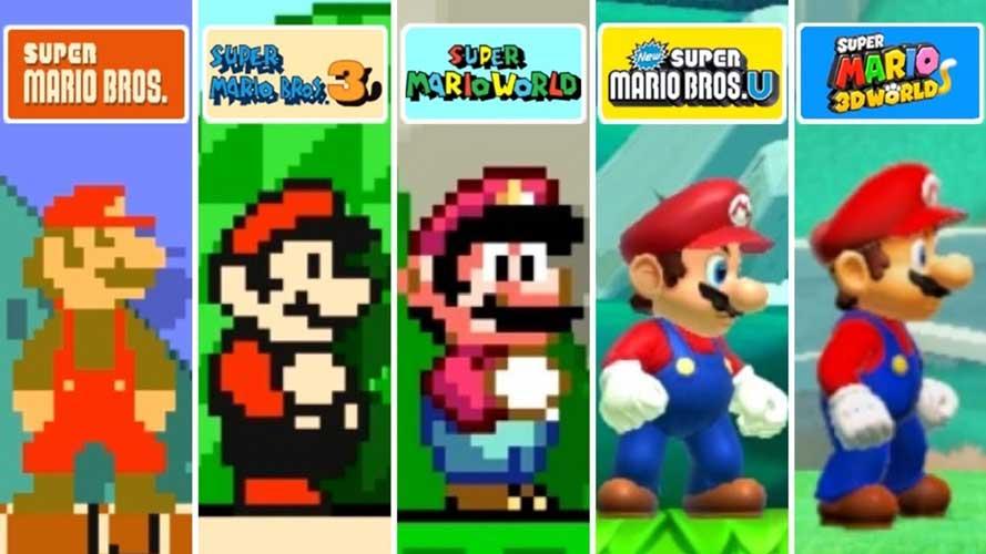 تکامل شخصیت ماریو