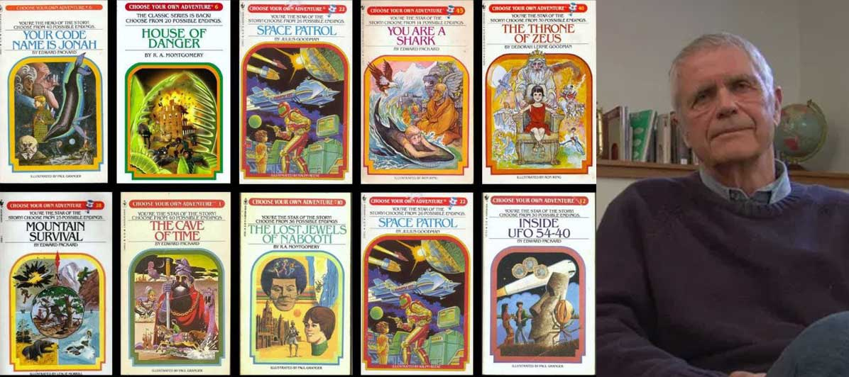 Edward Packard (Choose Your Own Adventure Books)