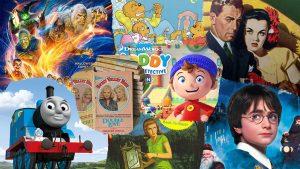 10 مجموعه داستانی پرفروش جهان