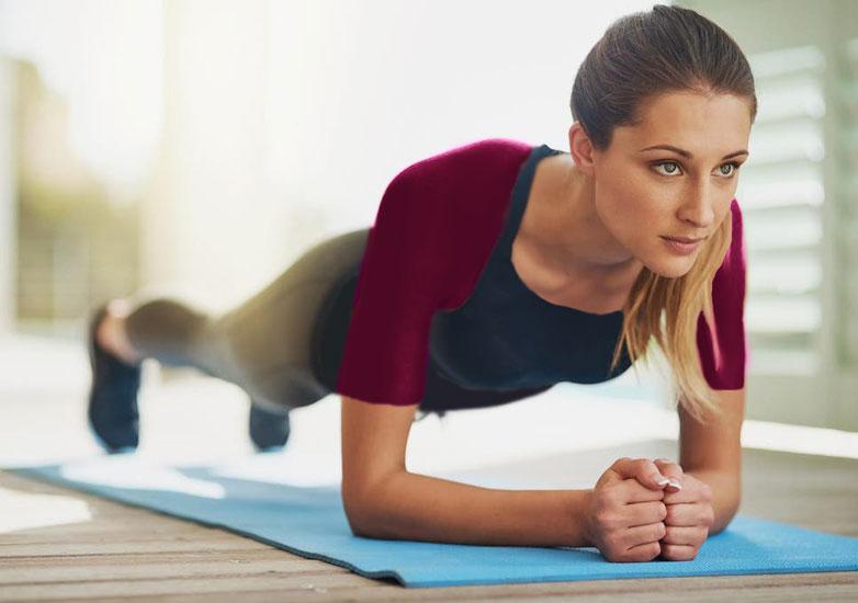 حرکت ورزشی تخته یا plank
