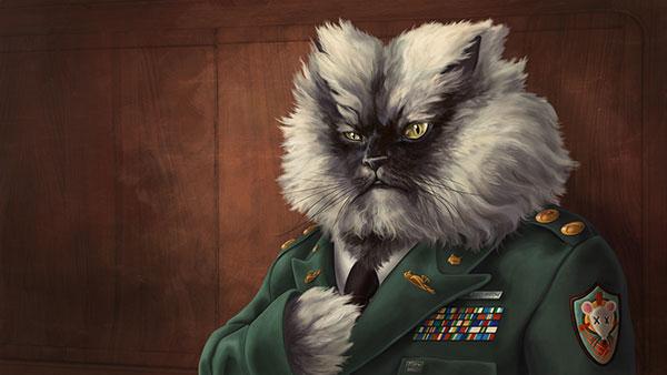 داستان گربه ای به نام کلنل میو