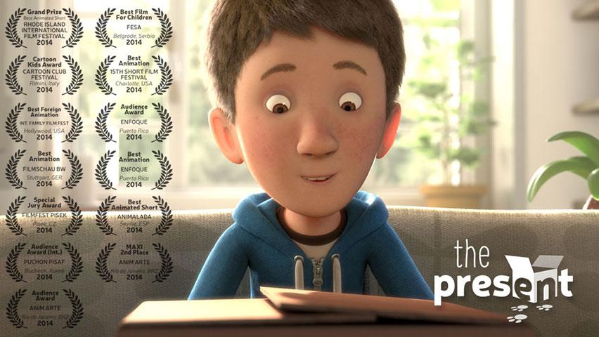 انیمیشن کوتاه هدیه The present