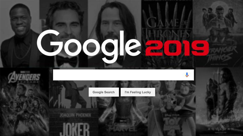 برترین جستجو های گوگل در سال 2019