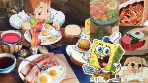 صبحانه و نهار و شام در دنیای انیمیشن جذابترین لحظات غذا خوردن در انیمیشن