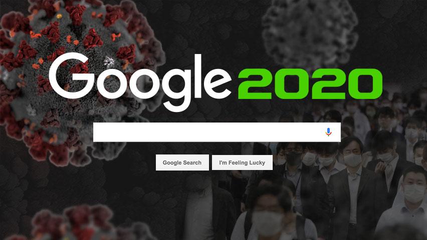 پرجستجو ترین عبارات سال 2020 در گوگل