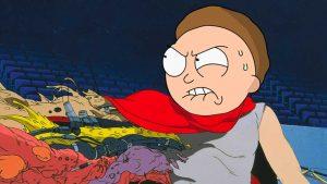 فصل چهارم انیمیشن ریک و مورتی و رفرنس قرار دادن انیمیشن آکیرا