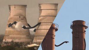 ۲ تبلیغ بامزه از ترکیب فیلم و انیمیشن از شرکت تولید انرژی سبز در انگلستان